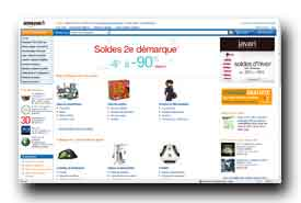 screenshot de www.amazon.fr