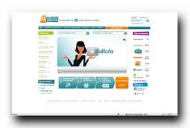 screenshot de www.malicea.com