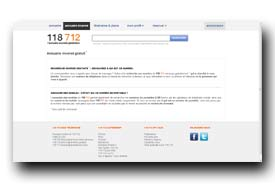 screenshot de www.118712.fr/annuaire-inverse-gratuit.html