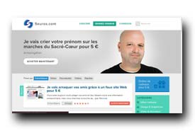 screenshot de www.5euros.com