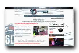 screenshot de www.m6.fr/emission-60_secondes_chrono/