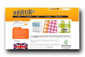 screenshot de www.additik.com