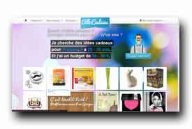screenshot de www.allocadeau.com