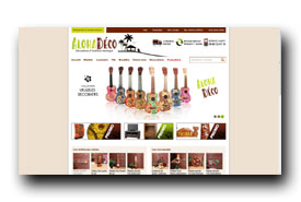 screenshot de www.alohadeco.com