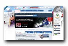 screenshot de www.alpinresorts.com/fr/location-ski