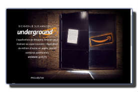 screenshot de amazon.fr/underground