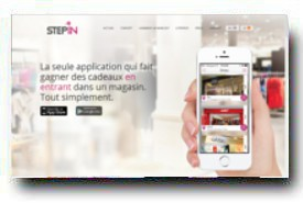 screenshot de www.step-in.fr