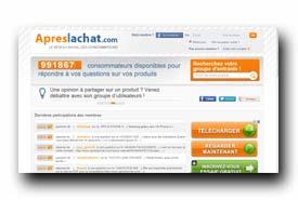screenshot de www.apreslachat.com