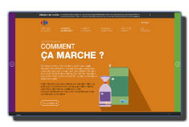 screenshot de www.aquellefrequence.fr