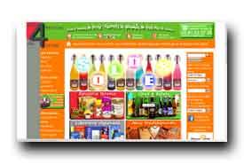 screenshot de www.aux4enviesduterroir.com