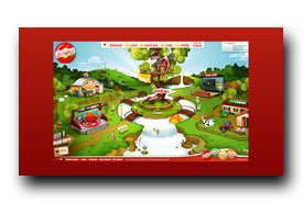 screenshot de www.babybel.fr