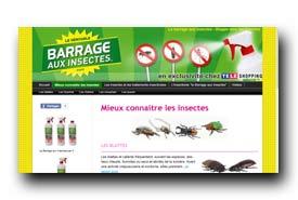 screenshot de www.barrage-aux-insectes.fr