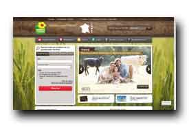 screenshot de www.bienvenue-a-la-ferme.com