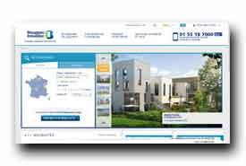screenshot de www.bouyguesimmobilier.com