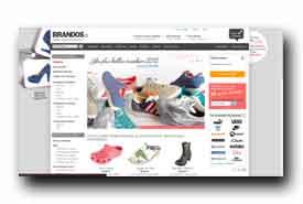screenshot de www.brandos.fr