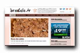 screenshot de www.bredele.fr