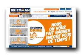 screenshot de www.bricoman.fr/default/bricoman-drive