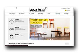 screenshot de www.brocantelab.com