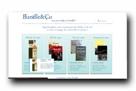 screenshot de www.bundleandco.com