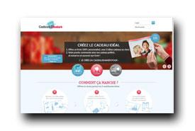screenshot de www.cadeaushaker.fr