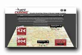 screenshot de www.carking.fr