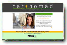 screenshot de www.carnomad.com