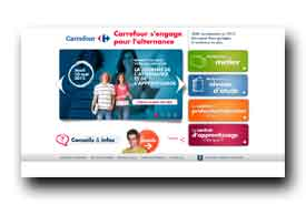 screenshot de www.alternance.carrefour.com