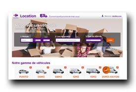 screenshot de www.carrefourlocation.fr