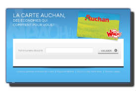 screenshot de www.cartedefidelite.auchan.fr