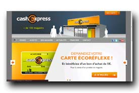 screenshot de www.cashexpress.fr