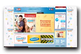 screenshot de catalogue.teleshopping.fr
