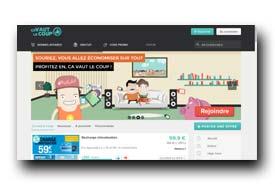 screenshot de www.cavautlecoup.fr