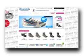screenshot de www.chaussea.com
