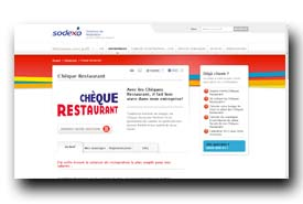 screenshot de www.chequerestaurant.fr