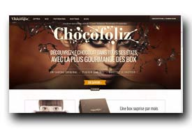 screenshot de www.chocofoliz.com