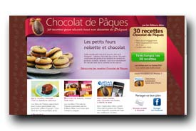 screenshot de www.chocolat-de-paques.com