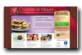 screenshot de www.chocolat-de-paques.com