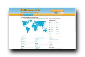screenshot de www.chtitannonce.fr