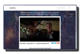 screenshot de www.cinemail.me