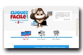 screenshot de www.cliquezfacile.com