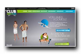 screenshot de www.clubservices-wilkinson.com