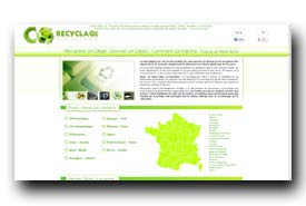 screenshot de www.co-recyclage.com