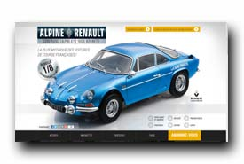screenshot de www.collection-alpine-renault.fr