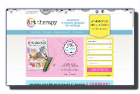 screenshot de www.collection-arttherapy.com