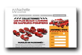 screenshot de www.collection-camions-pompiers.com