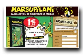 screenshot de www.collection-marsupilami.com