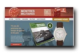 screenshot de www.collection-montres-militaires.fr
