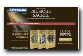 screenshot de www.lefigaro.fr/musique-sacree/