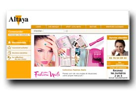 screenshot de www.altaya.fr/coleccionable/collection-fashion-nails.html