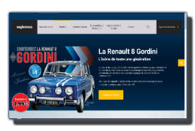screenshot de www.collection-renault-gordini.fr